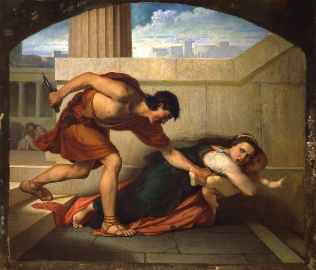 Angelo Visconti, The Massacre of the Innocents, 1860-1861, Italy.