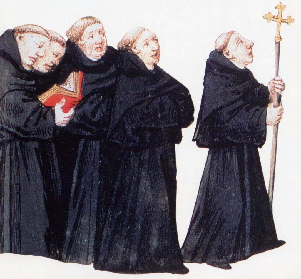 Dominican-blackyfriar-monks