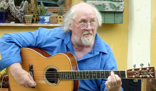 The late, great, extraordinary John Renbourn (1944–2015).