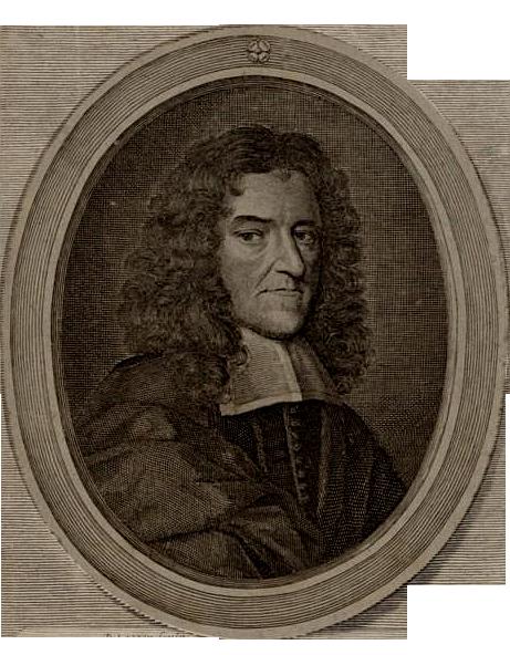 Musician, dancing master and publisher John Playford, as depicted by David Loggan.